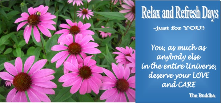 Relax and refresh Feb