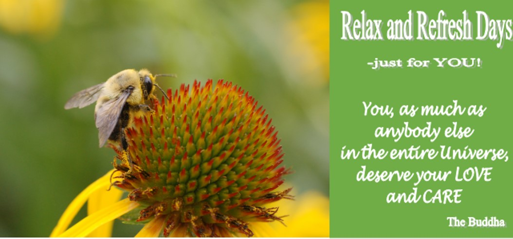 Relax and refresh March